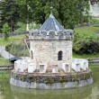 Turret in the lake — Stock Photo