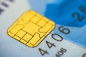 Credit card detail — Stock Photo