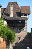 Interesting old house in Nuremberg — Stockfoto