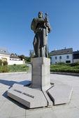 Prince Pribina statue — Стоковое фото
