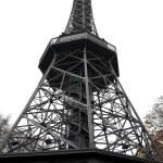 Petrin tower in Prague — Stock Photo
