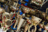 Cups for winners — Stock Photo
