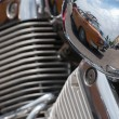 Detail of motorbike — Stock Photo