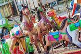 Colorful carousel — Stock Photo