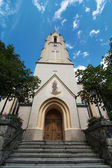 Maria-Himmelfahrt (Assumption day) church in Garmisch-Partenkirc — ストック写真