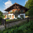 Country house in alpine village — Stock Photo