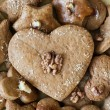 Stock Photo: Gingerbread heart