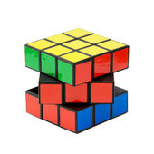 Classic Rubik's cube — Stock Photo