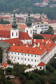Strahov monastery in Prague — Stock Photo