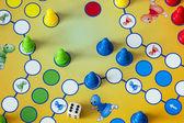 Gioco di gioco ludo — Foto Stock