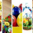 Easter collage — Stock Photo