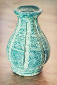 Terrakotta-Vase mit Muster — Stockfoto