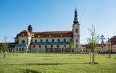 Basilica of Saint Cyrillus and Methodius in Velehrad, Czech repu — Foto Stock