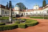 Famous Buchlovice castle — Stock Photo