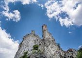 Maiden tower of Devin castle, Slovakia — Stock Photo
