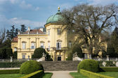 Buchlovice castle with park in Czech republic — Stock Photo