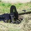Постер, плакат: Historical loaded machine gun