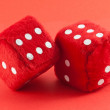 Red dices — Stock Photo #8989532