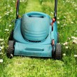 Stock Photo: Lawn mowers