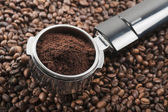 Coffee dispenser — Stock Photo