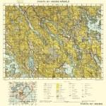 Finnish WWII map — Stock Photo #13354129