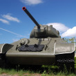 Stock Photo: Soviet tank of Second World War.