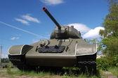 Soviet tank of the Second World War. — Stock Photo