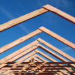 Roof Trusses - Stock Photo
