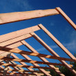 Roof Trusses — Stock Photo