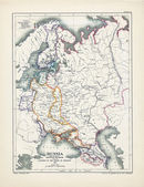 Europe old map — Stock Photo