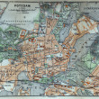 Berlin old map — 图库照片