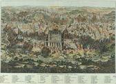 Vecchio piano di gerusalemme — Foto Stock