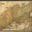 Old map — Stock fotografie
