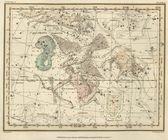 Celestial map — Stock Photo