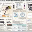 Soviet Army weapon poster — Stockfoto