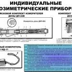 Постер, плакат: Soviet military individual radiometer ДП 22 DP 22