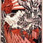 Постер, плакат: Communist Propaganda poster