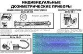 Soviet military individual radiometer ДП-22(DP-22) — Stock Photo