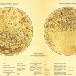 Old Soviet map of the Moon 1967 - Stock Photo