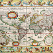 Antique Map — Stock Photo