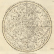 Astronomical chart - Foto de Stock