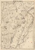 Japonia mapa stary — Zdjęcie stockowe