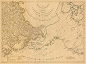 Arctic old map — Stock Photo