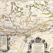 Canada old map — Stock Photo #21701763
