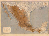 Mexico old map — Stock Photo