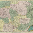 Russia old map - Stock Photo