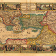 Holy Land old map - Stock Photo
