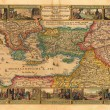 Stock Photo: Holy Land old map