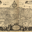 Holy Land old map — Stock Photo #22259879