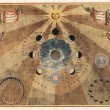 Astronomical chart — Stock Photo #23950997